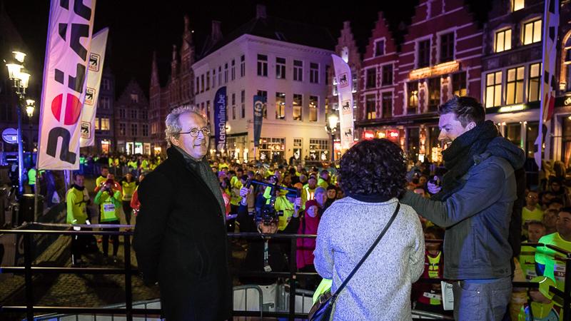 Brugge Urban Trail by Night 2017