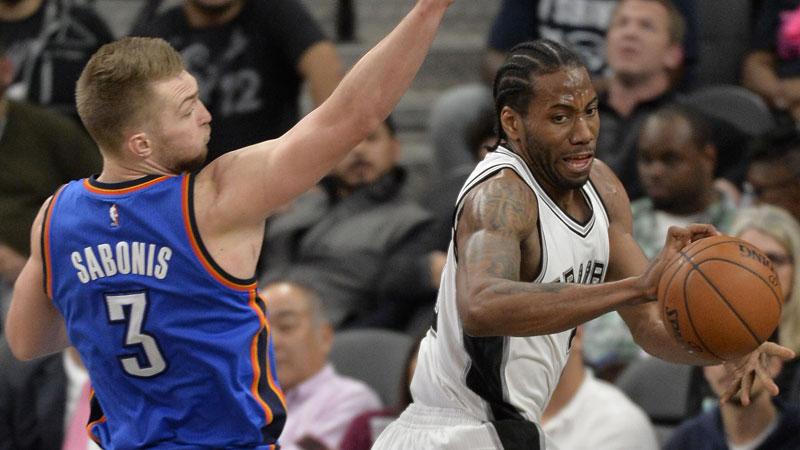 Leonard wint MVP-duel van Westbrook (VIDEO)