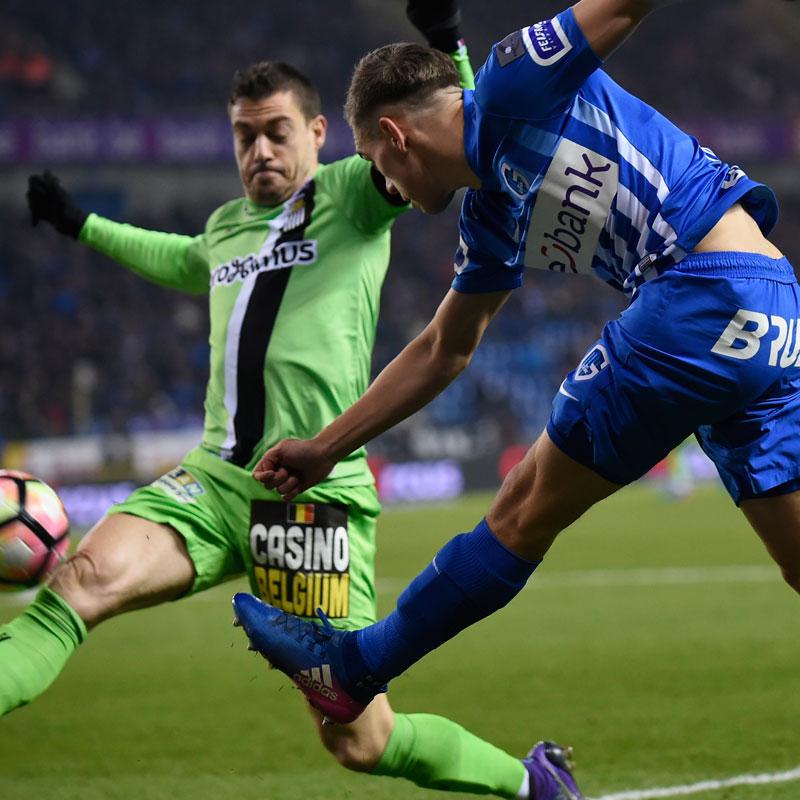 Genk kan overwicht tegen Charleroi niet verzilveren