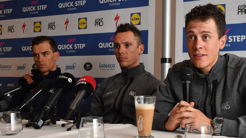 Terpstra en Stybar kijken uit naar de Vlaamse koersen
