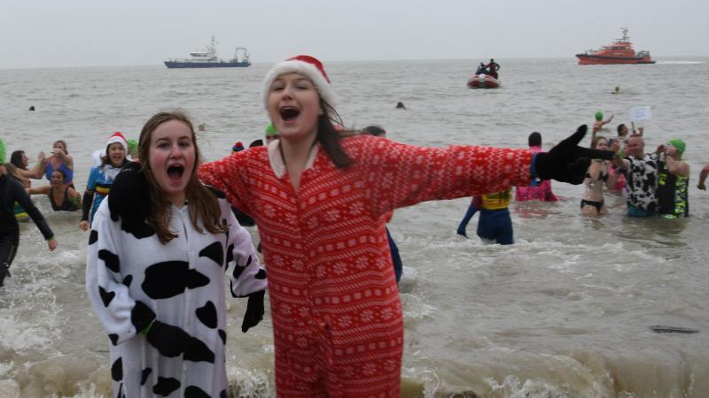 Nieuwjaarsduik Oostende