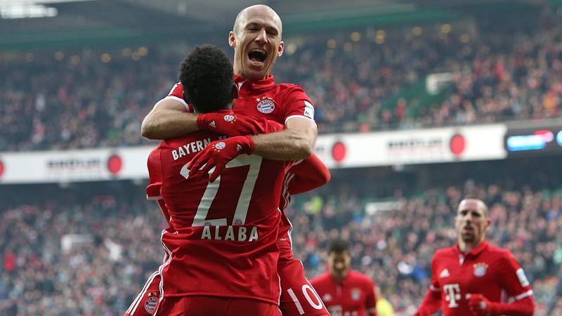 All. : le Bayern enchaîne face au Werder