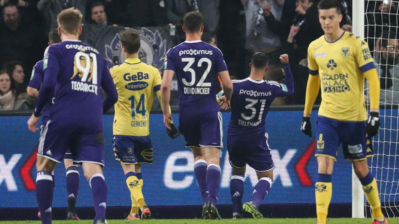 Résumé Anderlecht - STVV