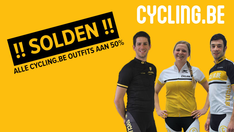 SOLDEN: cycling.be-outfits aan -50%