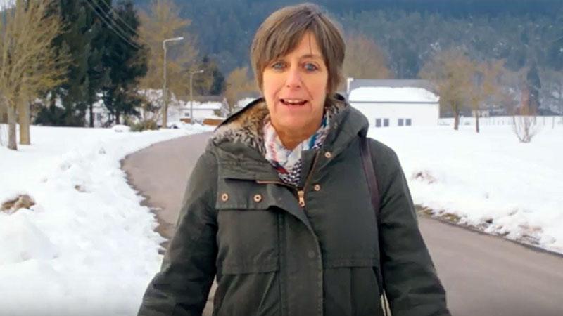 Ambassadrice Katrien bezoekt SOS Kinderdorp in eigen land