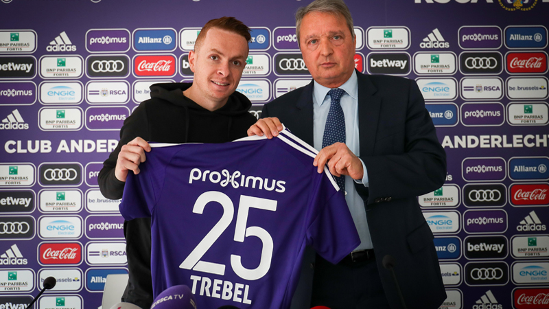 Trebel: 'Anderlecht is beter gewapend om titels te veroveren'