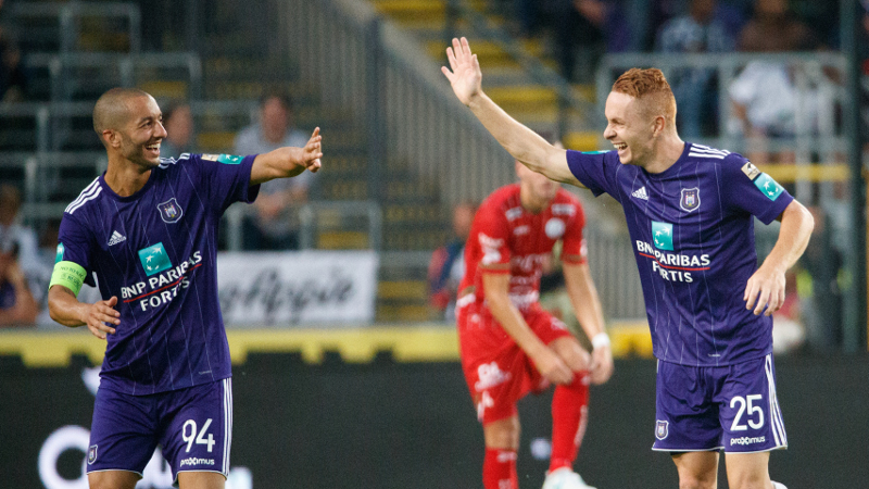 Anderlecht remporte la Super Coupe