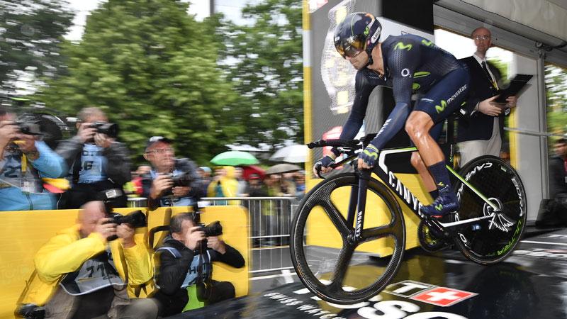 Valverde quitte déjà le Tour sur chute (VIDEO)