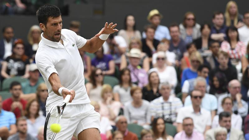 Djokovic bereikt kwartfinales (VIDEO)