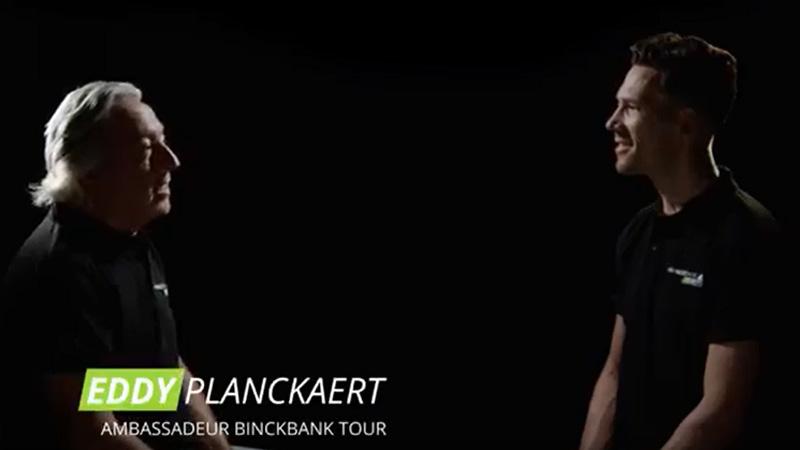 Eddy Planckaert en Maarten Tjalingii blikken vooruit naar BinckBank Tour
