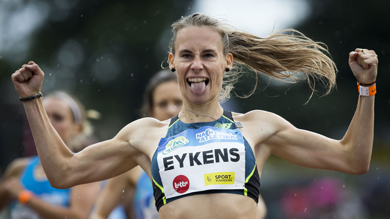 Victories for Bouchikhi, Belgian Tornados and Eykens on wet Night of Athletics