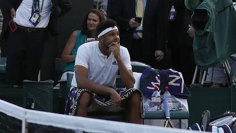 Tsonga, 5 minutes et puis s'en va — Wimbledon