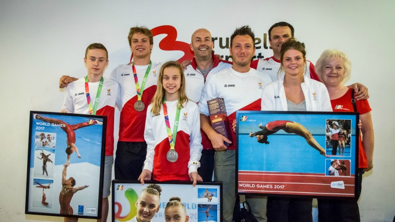 Amal Amjahid en or, Wim Deputter en argent — Jeux mondiaux