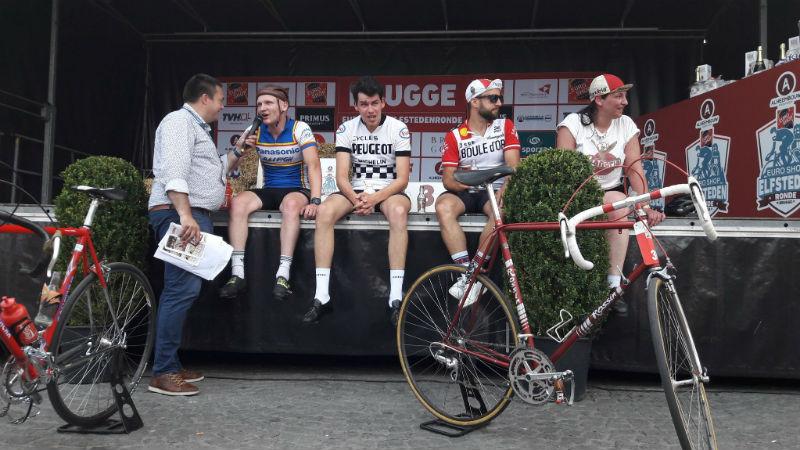 De l'ambiance à revendre à la 1ère course Rétro de l'Euro Shop Elfstedenronde