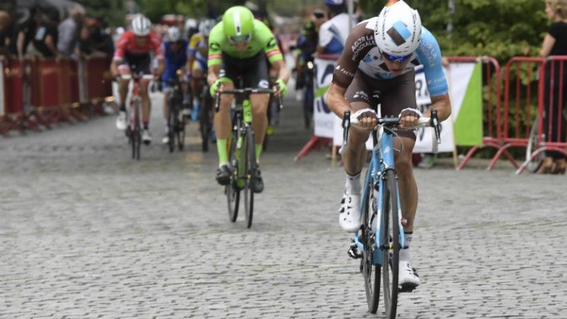 Oliver Naesen 'jumpe' pour devenir champion de Belgique