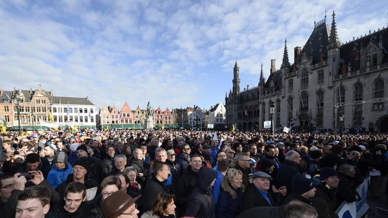 Bericht aan de bewoners van de stad Brugge!
