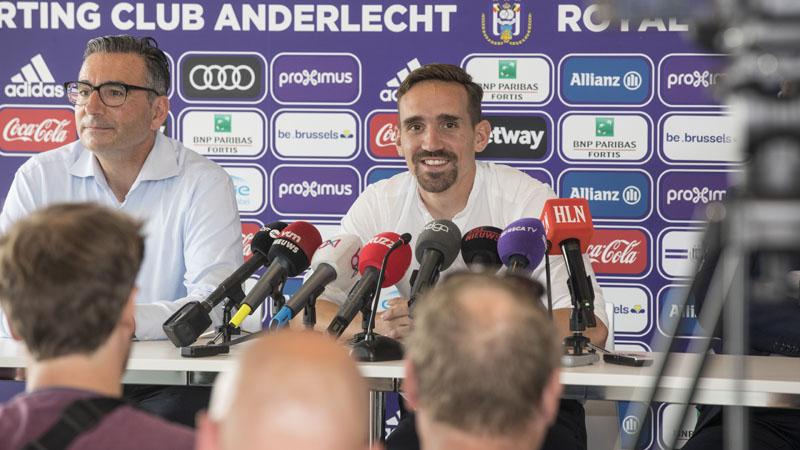 Kums: 'Terugkeren naar Anderlecht is voor een stuk nostalgie' (VIDEO)