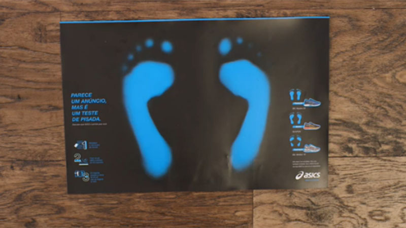 Interactieve advertentie zegt welk type schoen bij jou past (video)