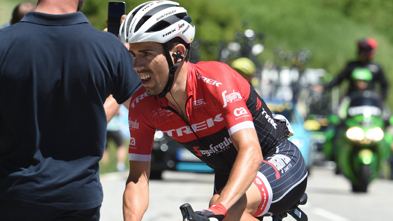 Un équipier de Contador contrôlé positif — Trek-Segafredo