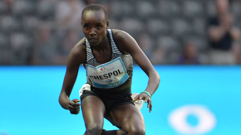 Chespol, Bett, Kiplangat, Aprot, Cherotich, Kiriu, and Rotich earn selection for world championships