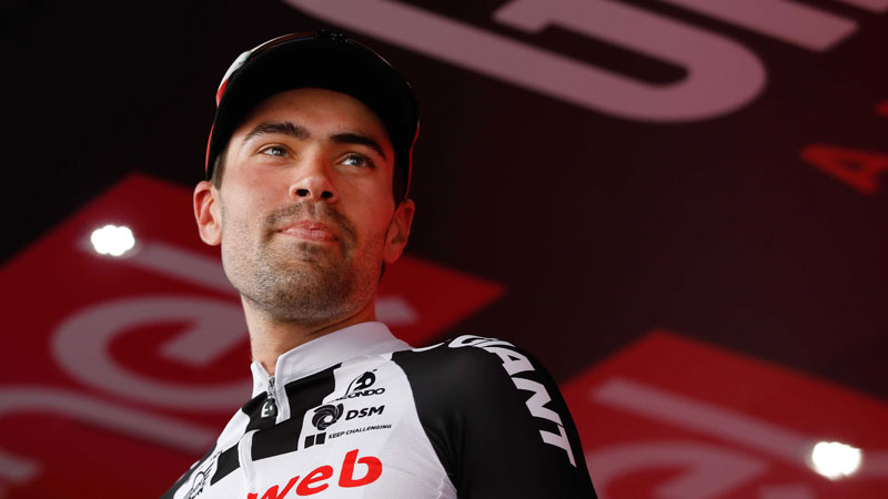 Alle WorldTour-ploegen en... Tom Dumoulin in  BinckBank Tour