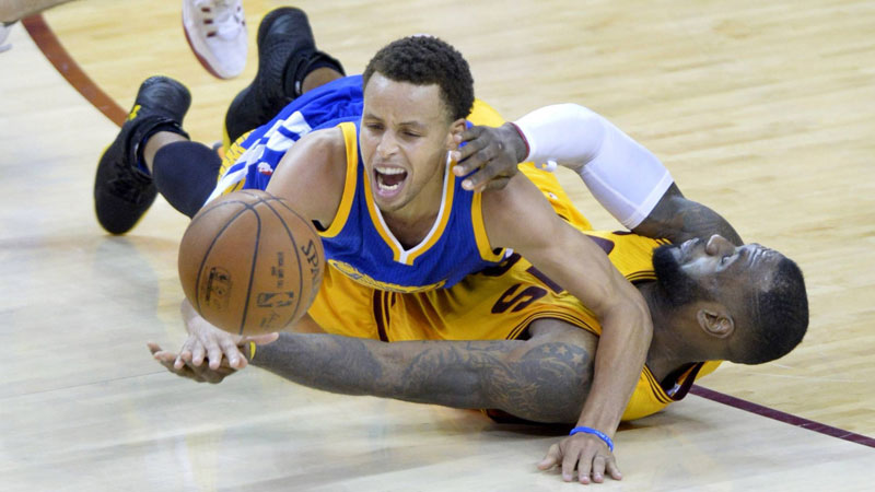 Golden State Warriors verdubbelen voorsprong (VIDEO)