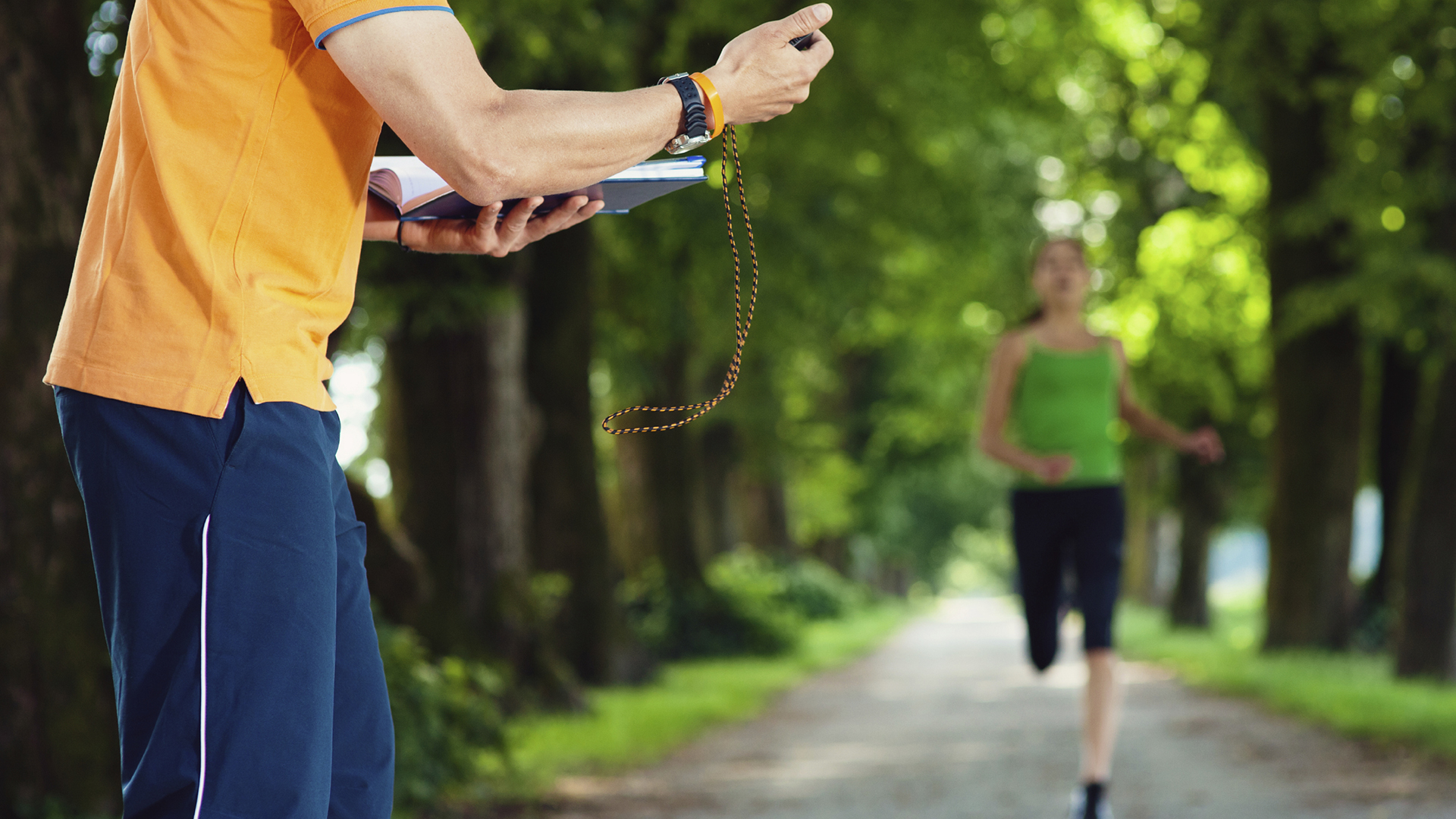 Trend: interval na een training