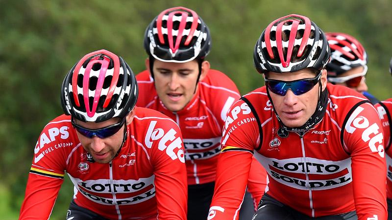 Lotto Soudal met vier Belgen naar Tour