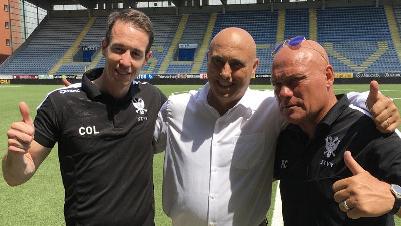 Le nouvel entraîneur de Saint-Trond revient d'Irak
