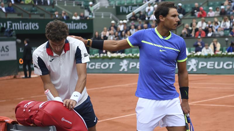 Roland-Garros. Rafael Nadal, premier qualifié pour les demi-finales