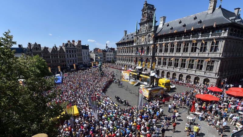 Le CB d'Anvers et Belgian Cycling Championship Happening présentent un parcours relevé