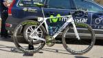 Valverde van start met speciale fiets in Ronde van Catalonië
