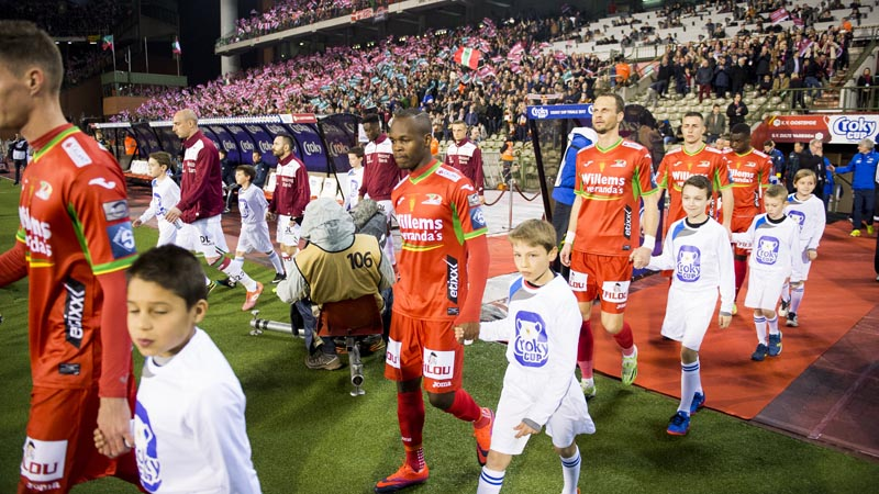 Finale Croky Cup 2017: KV Ostende - Zulte Waregem