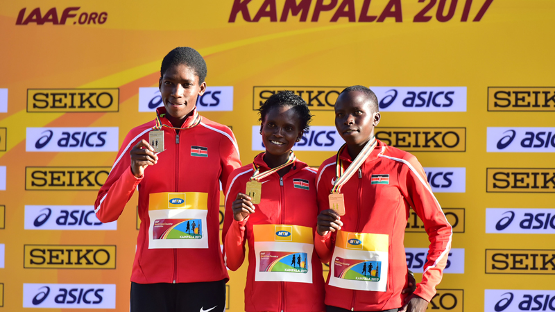 Aprot, Koros, and Chespol lead medal haul at IAAF World Cross Country Championships
