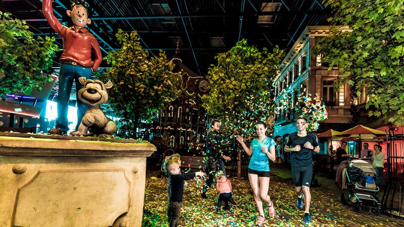 Tweede editie Hasselt Urban Trail onder meer door Plopsa Indoor