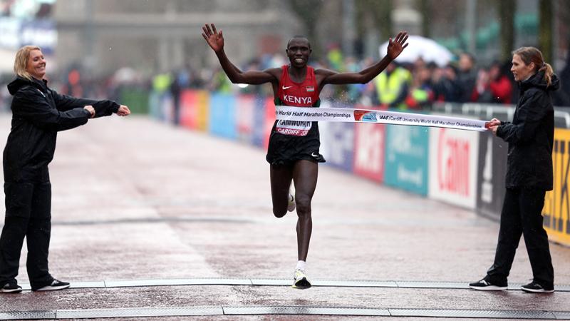 Kenia boven op WK veldlopen, Kimeli geeft op