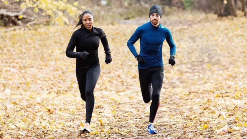 Marathontraining om van achterover te vallen