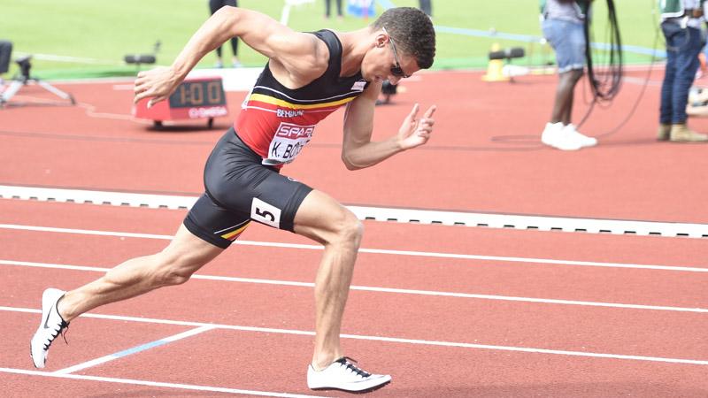 Kevin Borlée deuxième sur 400m à Kingston