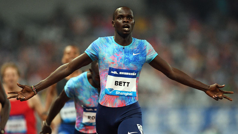 Jebet, Bett, and Milanov victorious at Diamond League Shanghai