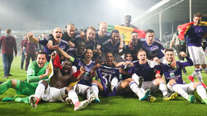 Anderlecht champion, les photos d'une nuit de fête !