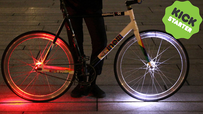 Wheely verlicht je wiel (VIDEO)