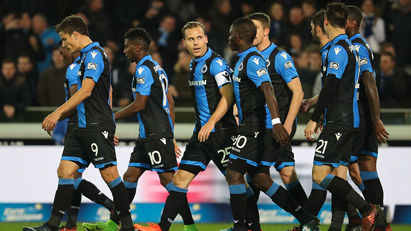 Club Brugge behoudt het maximum in eigen huis