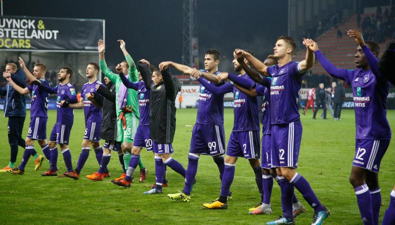 Anderlecht ramène trois bons points du Canonnier
