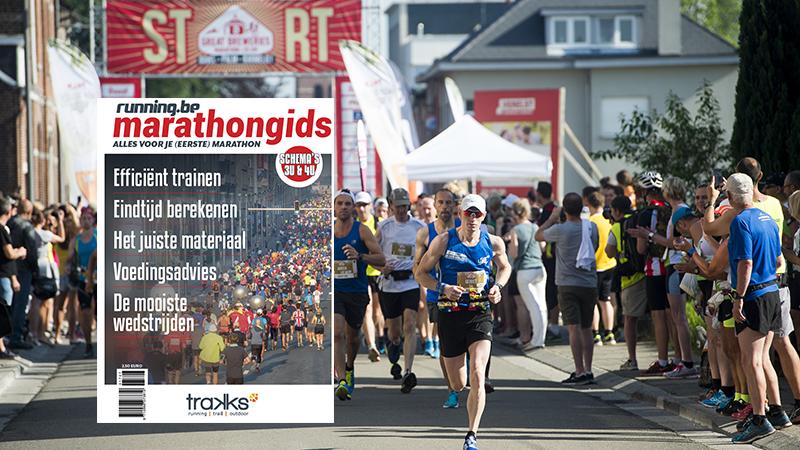 Nu in de winkel: de running.be marathongids