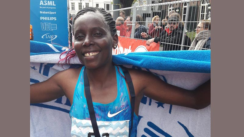 Jeptoo and Kirwa reach podium at Eindhoven Marathon