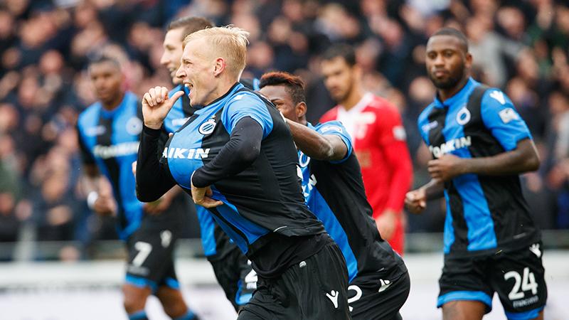 Club Brugge dankt Decarli tegen Antwerp