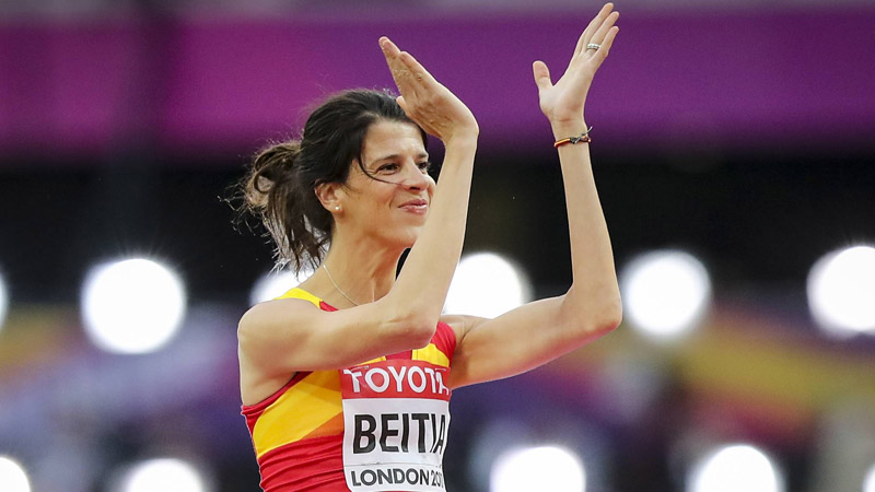 La championne olympique Ruth Beitia stoppe sa carrière