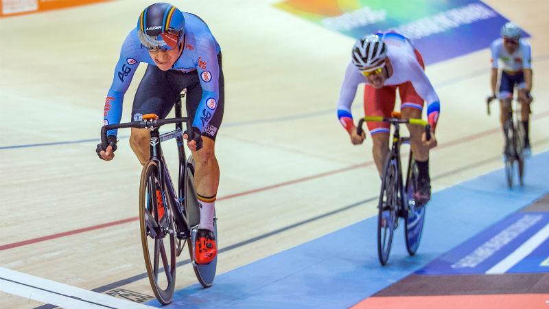 Thyssen enige Belgische medaillewinnaar op EK baanwielrennen