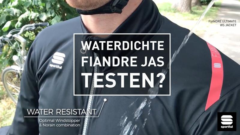 Test de nieuwste Sportful Fiandre-jas voor je koopt!