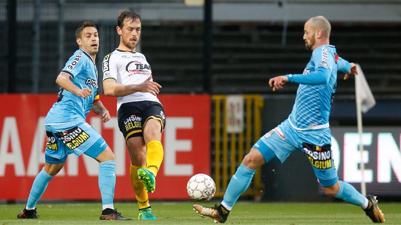 Charleroi kan niet winnen in Lokeren